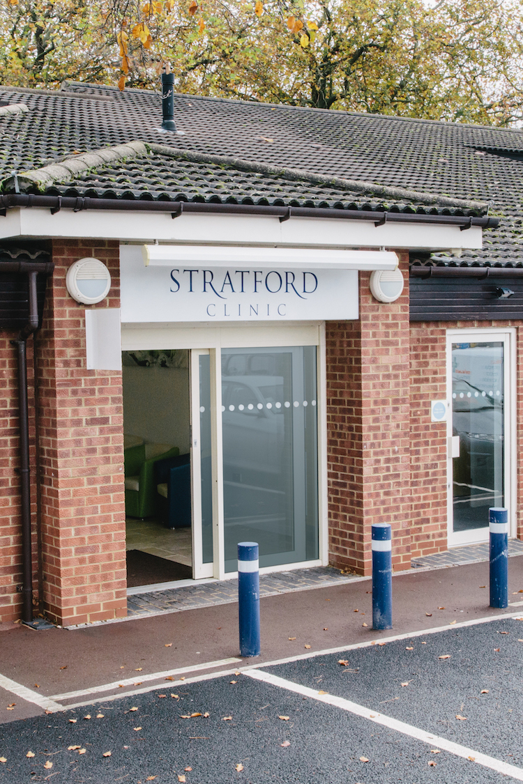 Outside of the Stratford Clinic